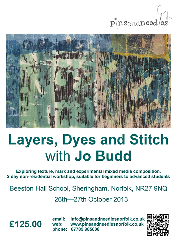 Layers, Dyes & Stitch
