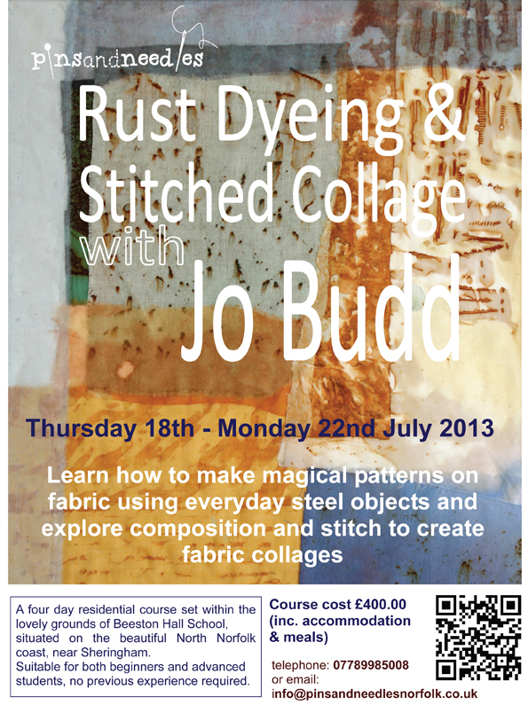 Rust Dyeing